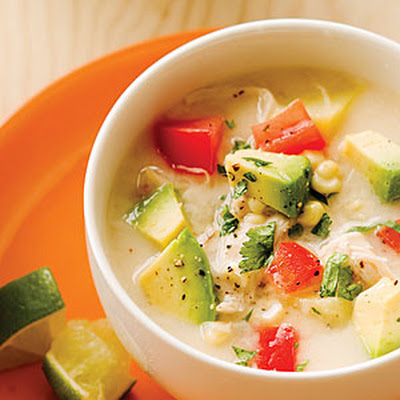 Chicken and Corn Summer Chowder