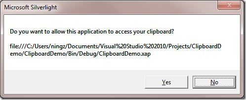 Clipboard Prompt