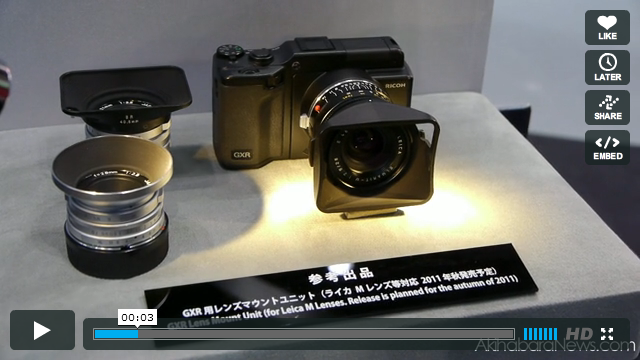 GXR Leica M Mount Module