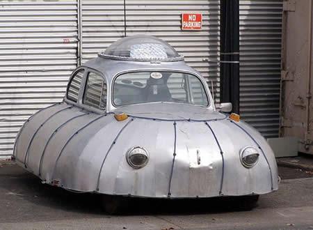 VW Kodok yang jadi UFO