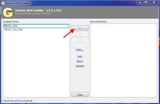 JSGME un logiciel indispensable JSGME_mod_activate1