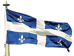 Quebecs flagga
