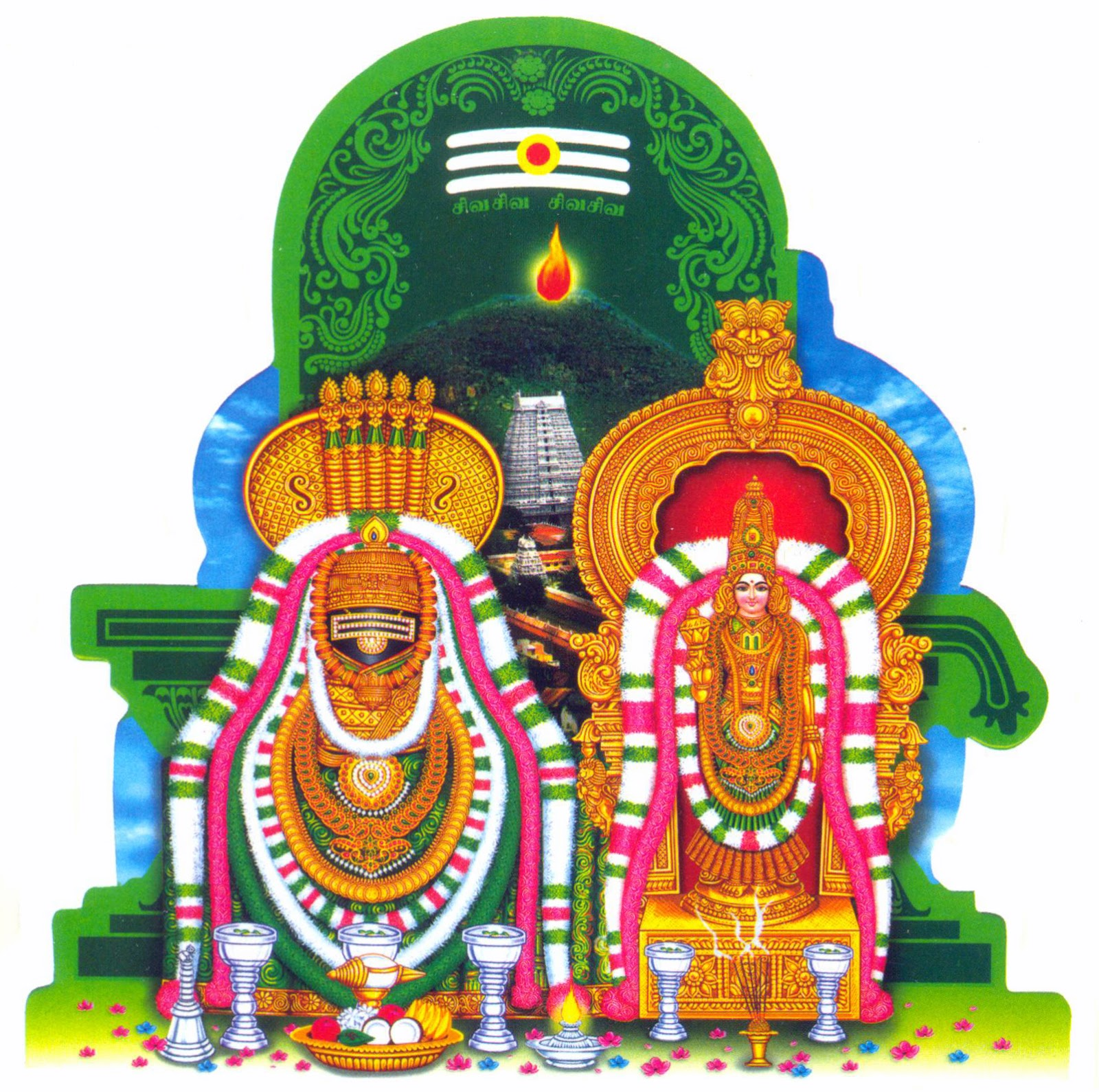 Significance of Worshipping Asta Lingams in Girivalam, Tiruvannamalai