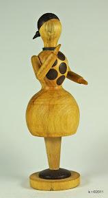 Figur 3b - Weiße Tänzerin