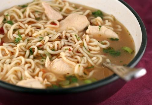 chicken ramen soup 1