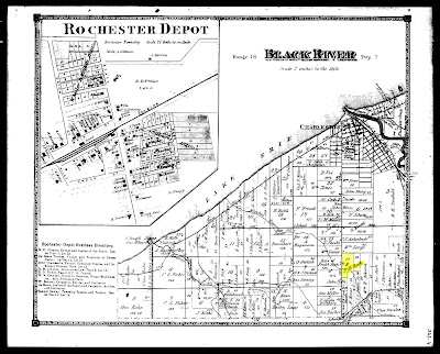 Map of Roth property in Lorain County Ohio