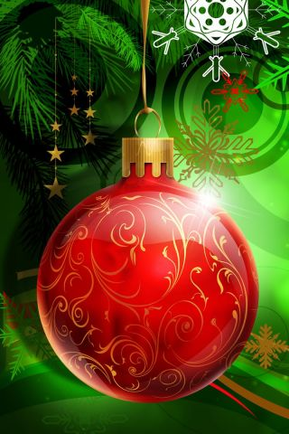 140+ Beautiful and dazzling Christmas iPhone Wallpapers