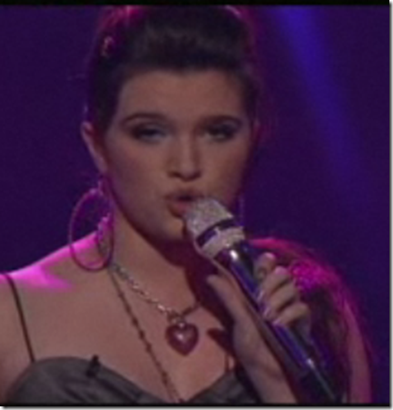 Katie Stevens Chain of Fools American Idol Top 10 March 30