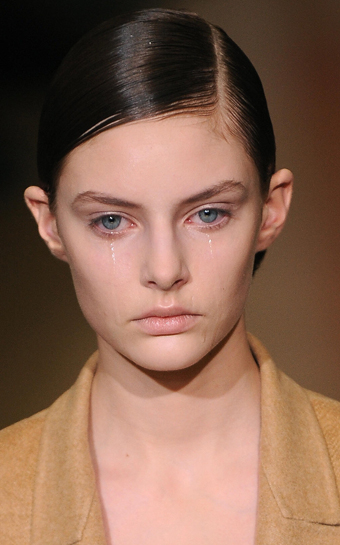 Model Crying
