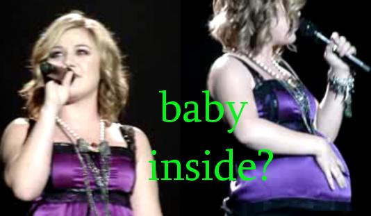 Kelly Clarkson pregnant, Kelly Kalrkson weight gain