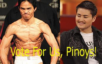 Manny Pacquiao and Thomas Beatie Time 100