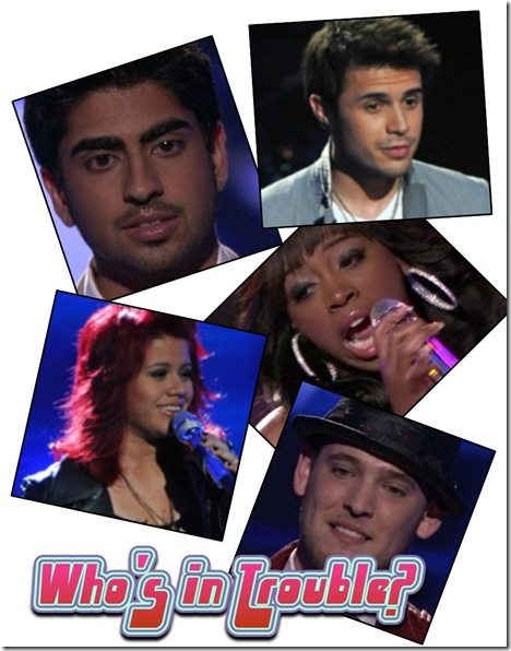 Who Will Be Voted Off American Idol April 22 2009?
