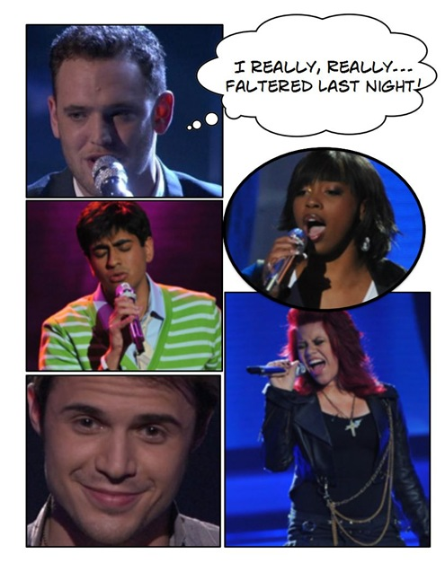 American Idol Predictions Bottom 3 in Top 7
