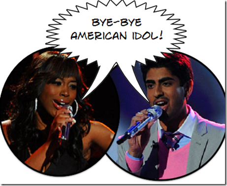 American Idol Eliminated April 22 - Lil Rounds and Anoop Desai