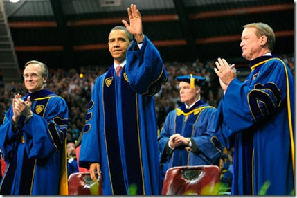 Notre Dame Commencement with President Obama