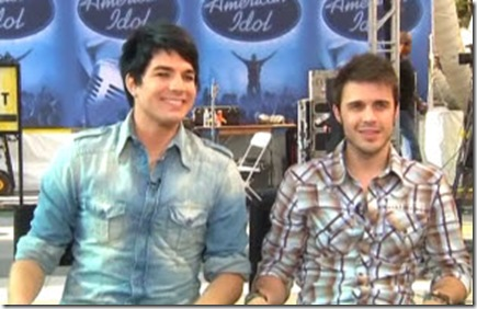 American Idol Song Finale Spoilers - Adam Lambert and Kris Allen Face-Off