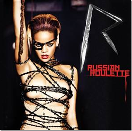 Rihanna Russian Roullette Single Cover