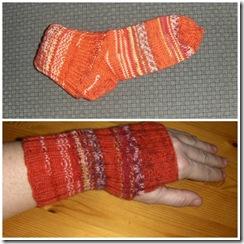 sokk og pulsvarmer