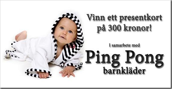 Pingpong Barnkläder