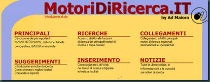 MOTORI DI RICERCA . IT