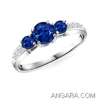Round-Blue-Sapphire-Three-Stone-Ring-with-Pave-Diamonds-in-14k-White-Gold-(5-mm-3-mm)_ARW0465SB_Reg