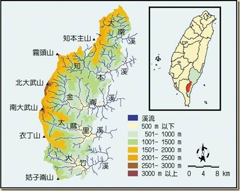 大武山自然保留區