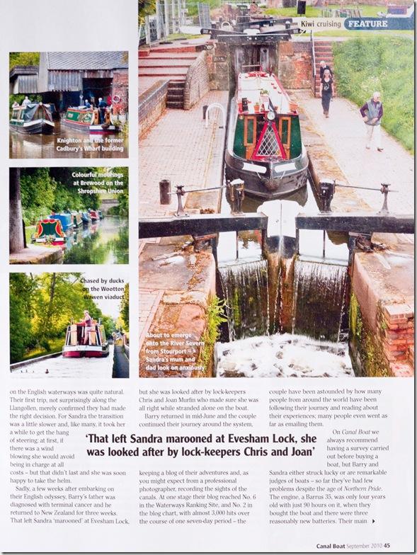 Canalboat Magazine 6