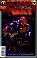 P00008 - 26-Batman - Shadow of the Bat   por yonofui #25