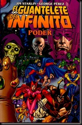P00004 - Sagas cosmicas de Thanos -  El guantelete del infinito  Poder.howtoarsenio.blogspot.com v2 #4
