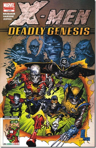 X-Men - Deadly Genesis