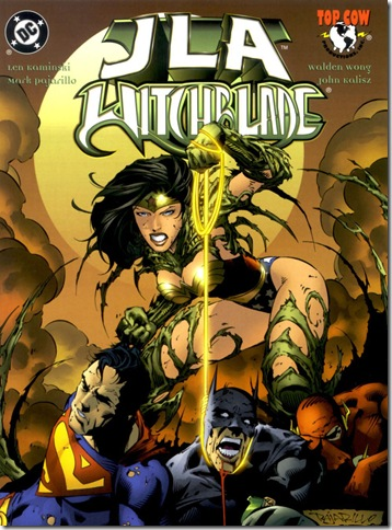 JLA vs Witchblade