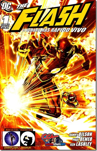 Flash - The faster man alive