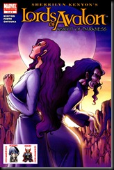 P00005 - Lords of Avalon - Knight of Darkness #5