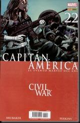 P00022 - Capitán América  Panini v6 #22