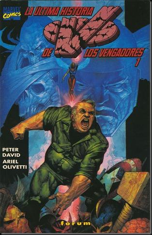 La ultima historia de los Vengadores 01
