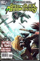 P00016 - Green Arrow y Black Canary #15