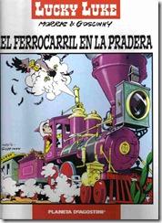 P00009 - Lucky Luke  - El ferrocarril en la pradera #9