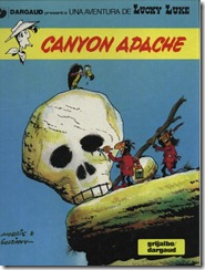 P00037 - Lucky Luke  - Canyon apache #37