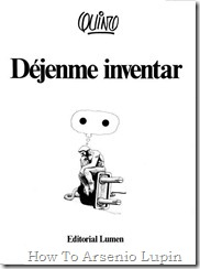 Quino 1983 - Dejenme inventar