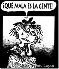 Quino 1996 - Que mala es la gente