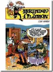 P00142 - Mortadelo y Filemon  - Los verdes.howtoarsenio.blogspot.com #142