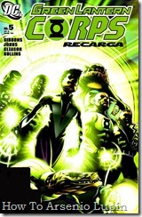 P00322 - 314 - Green Lantern Corps Recharge #5