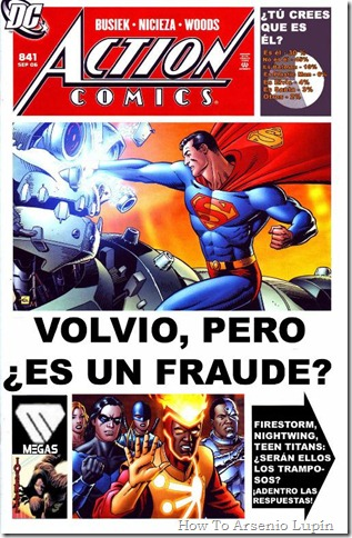 2011-08-07 - Action Comics #841 al #870 (Post One Year Later)