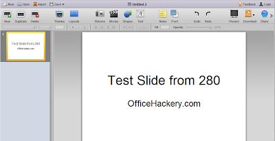 Create Free MS PowerPoint Presentations Online