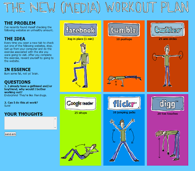 Social Media + Workout Plan
