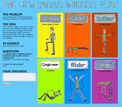 Social Media + Workout Plan