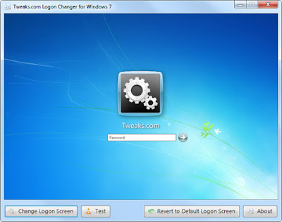 Customize Windows 7 Logon Screen with Tweaks.com Logon Changer