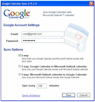 Synchronize MS Outlook With Google Calendar