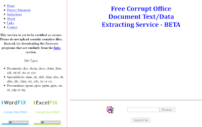 Extract Text Or Data From Your Corrupted MS Office Documents