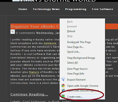 Add Sticky Notes To Website You Want A Reminder In Firefox